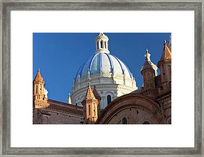 Cathedral Of The Immaculate Conception Framed Print by Peter Adams