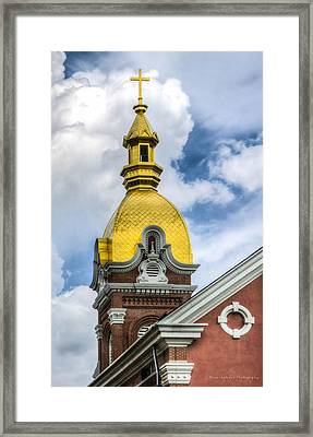 Cathedral Of The Immaculate Conception Framed Print