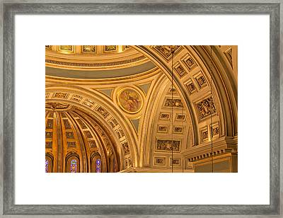 Cathedral Of The Sacred Heart 3 Framed Print by Jemmy Archer
