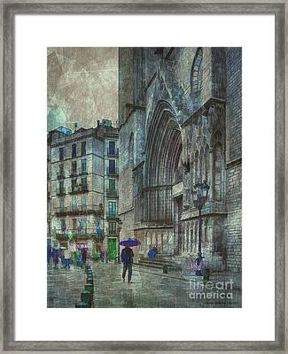 Cathedral Of The Sea Framed Print