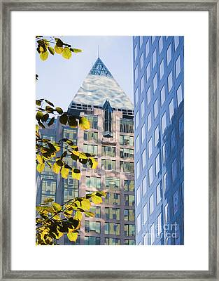 Cathedral Place Vancouver Framed Print by Chris Dutton