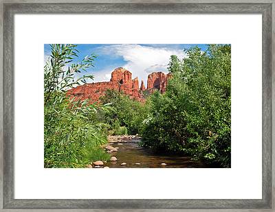 Cathedral Point - Sedona Arizona Framed Print by Gregory Ballos