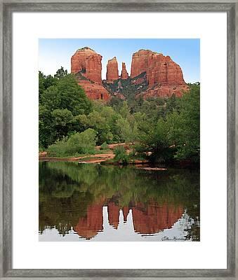 Cathedral Rock 1 Framed Print by Ellen Henneke