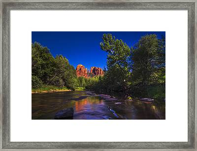 Cathedral Rock 2 Framed Print by Giovanni Allievi