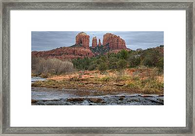 Cathedral Rock Framed Print