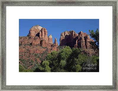 Cathedral Rock Framed Print by Ivete Basso Photography