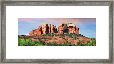 Cathedral Rock - Sedona Framed Print