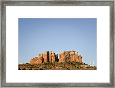 Cathedral Rock Vi Framed Print by Dave Gordon