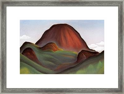 Cathedral Rock Warrumbungle National Park Nsw Framed Print