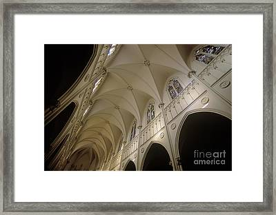 Cathedral Santiago Chile Framed Print by Craig Lovell