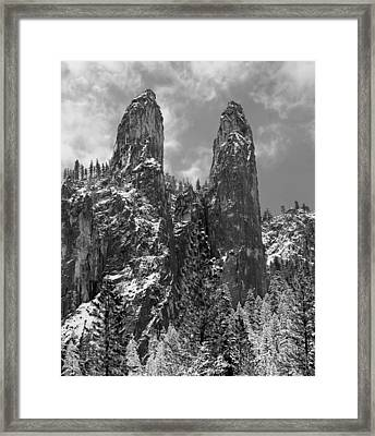 Cathedral Spires Framed Print