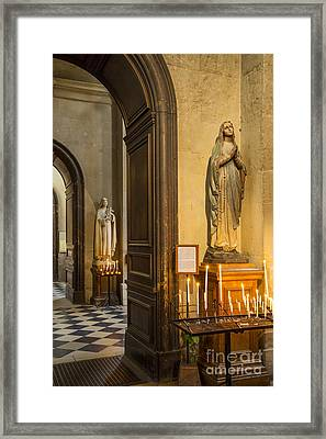 Cathedral St. Paul - St. Louis Framed Print by Brian Jannsen