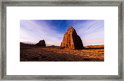 Cathedral Temples Framed Print by Chad Dutson