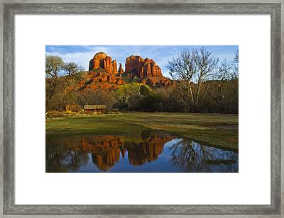 Cathedral Framed Print by Tom Kelly
