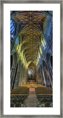 Cathedral Vertorama Framed Print by Ian Mitchell