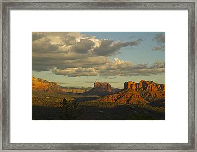 Cathedral's Shadows Framed Print