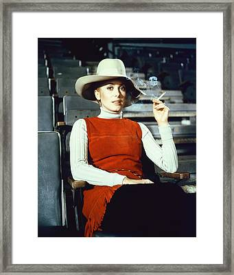 Catherine Deneuve In The April Fools Framed Print by Silver Screen