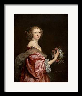 Catherine Howard Framed Prints
