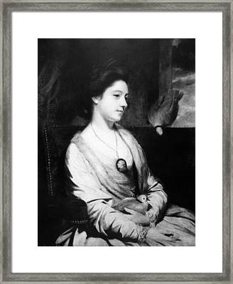 Catherine Maria Fisher (d Framed Print by Granger