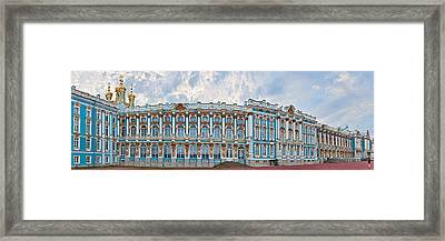 Catherine Palace Courtyard, Tsarskoye Framed Print