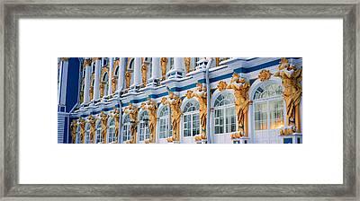 Catherine Palace Pushkin Russia Framed Print