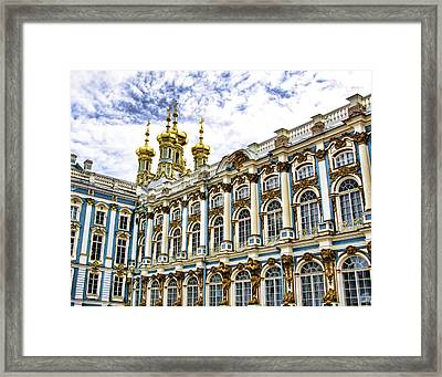 Catherine Palace - St Petersburg Russia Framed Print