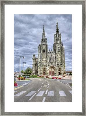 catholic church in France Framed Print