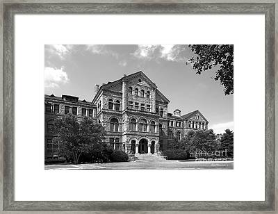 Catholic University Mc Mahon Hall Framed Print by University Icons