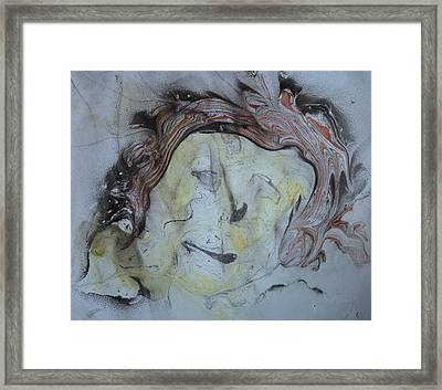 Framed Print featuring the painting Catman by Mike Breau