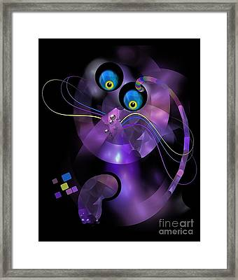 Cats 006-13 - Marucii Framed Print
