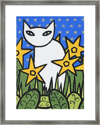 Cats 2 Framed Print by Trudie Canwood