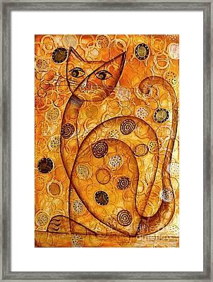 Cats 694 Framed Print by Marek Lutek