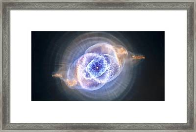Cat's Eye Nebula Framed Print by Adam Romanowicz