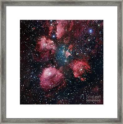 Cat's Paw Nebula, Optical Image Framed Print by Robert Gendler