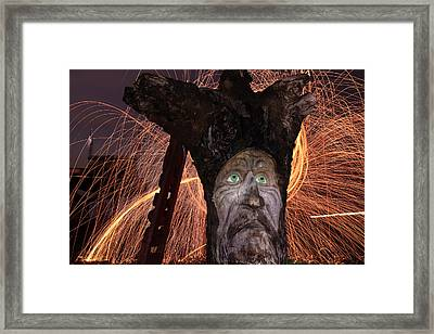 Cattelacs Chainsaw Art 5 Framed Print