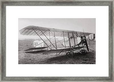 Caudron G2 Biplane C. 1912 Framed Print