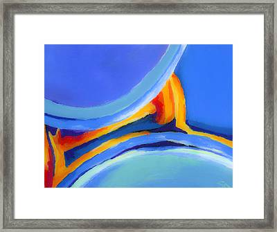 Caught Between Framed Print by Stephen Anderson