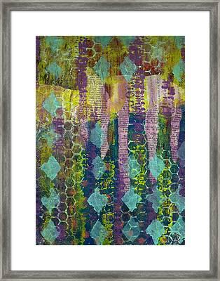 Caught In The Net Framed Print by Lisa Noneman