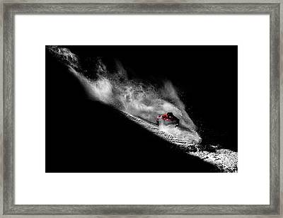 Caught In The Sin Framed Print
