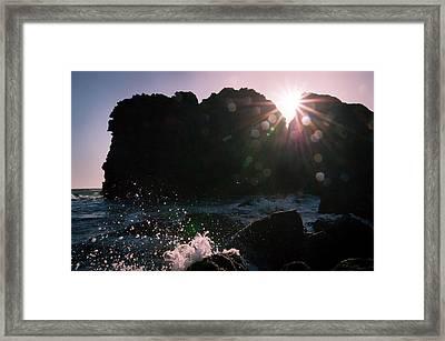 Caught In The Star Light Framed Print