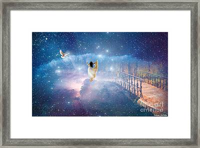 Caught Up Framed Print by Dolores Develde