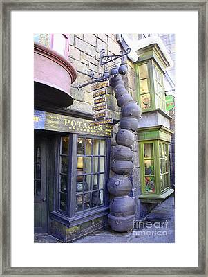 Cauldron Alley Framed Print