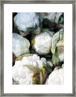 Cauliflower Bouquet Framed Print