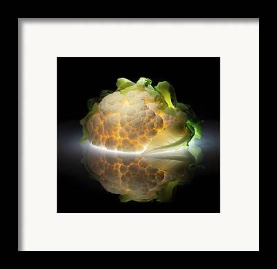 Cauliflower Framed Prints