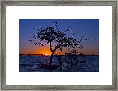 Causeway Sunrise Framed Print