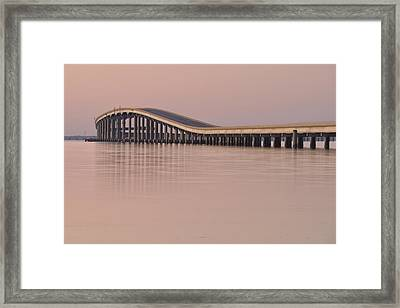 Causway Framed Print