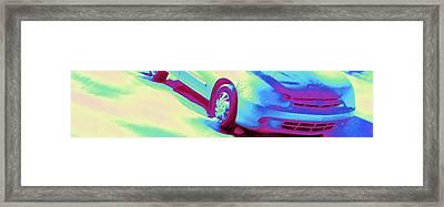 Cavalier In Motion Framed Print by Pamela Hyde Wilson
