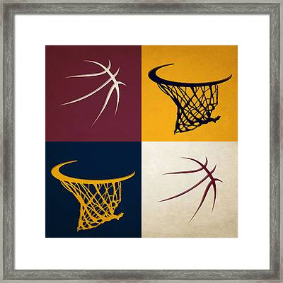 Cavaliers Ball And Hoop Framed Print by Joe Hamilton