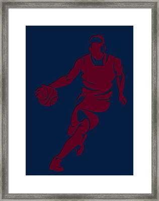 Cavaliers Basketball Player2 Framed Print by Joe Hamilton