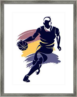 Cavaliers Basketball Player3 Framed Print